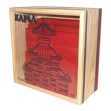 Kapla Kapla Block Set - 40 Piece Red