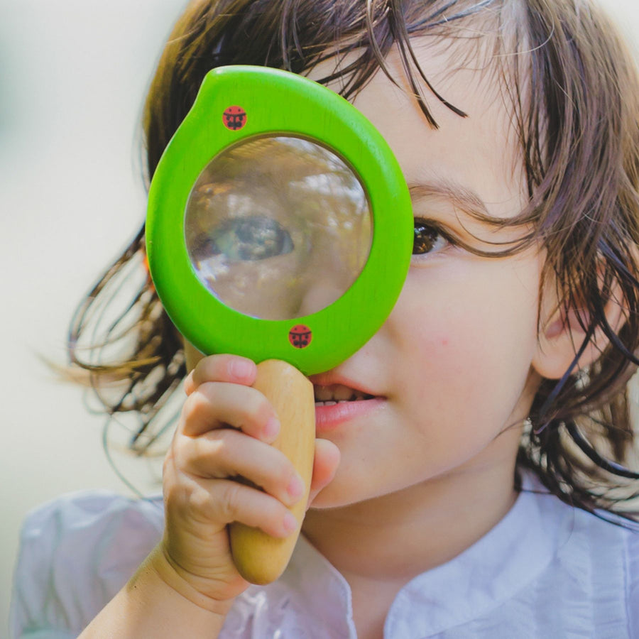 Plan Toys Leaf Magnifier with Child - Oompa Toys