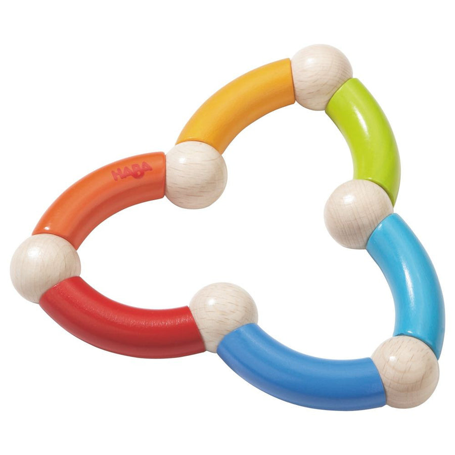 Haba Color Snake Clutching Baby Toy