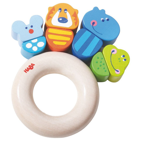 Haba Jungle Caboodle Clutching Baby Toy