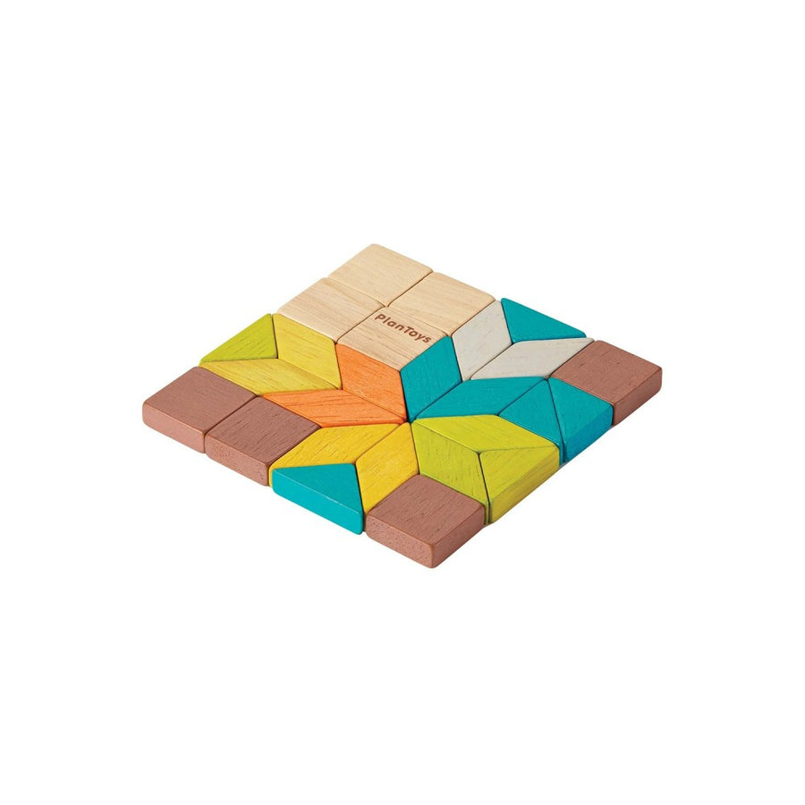 Mini Mosaic in Tin - Plan Toys - Oompa Toys