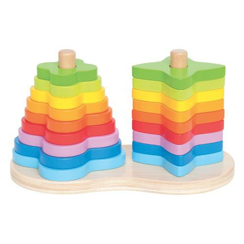 Hape Double Rainbow Stacker