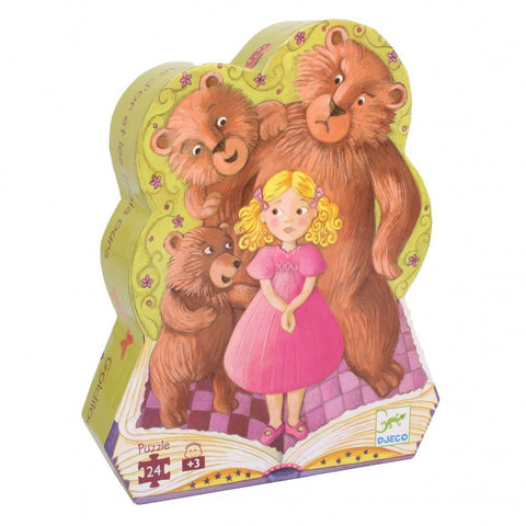 Djeco Goldilocks & The 3 Bears Puzzle (24 Pieces)