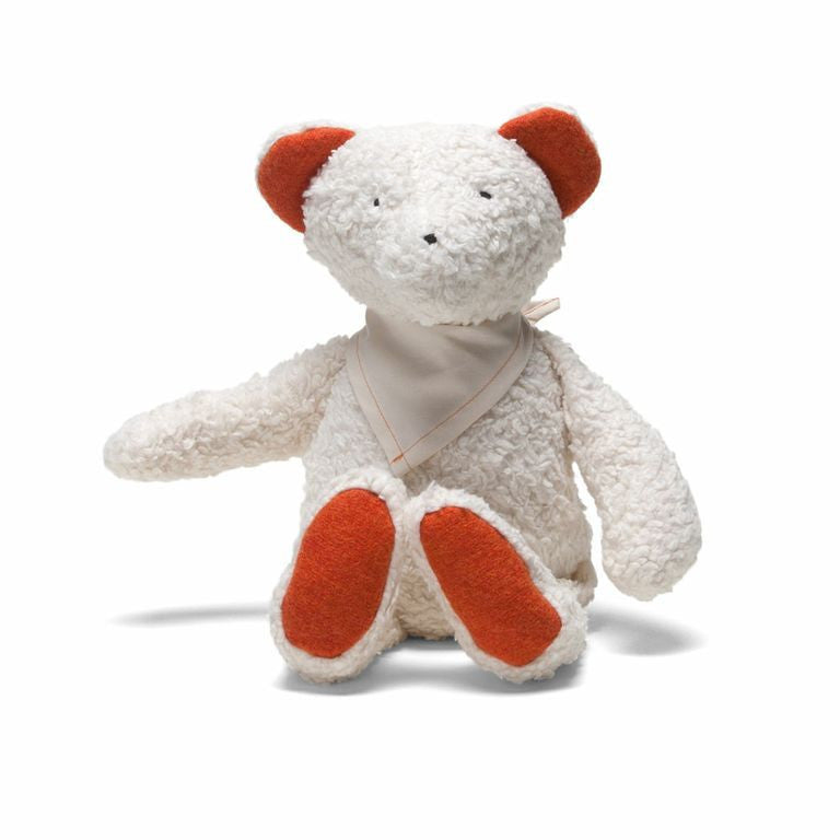 Effie Organic Wooly Teddy Bear