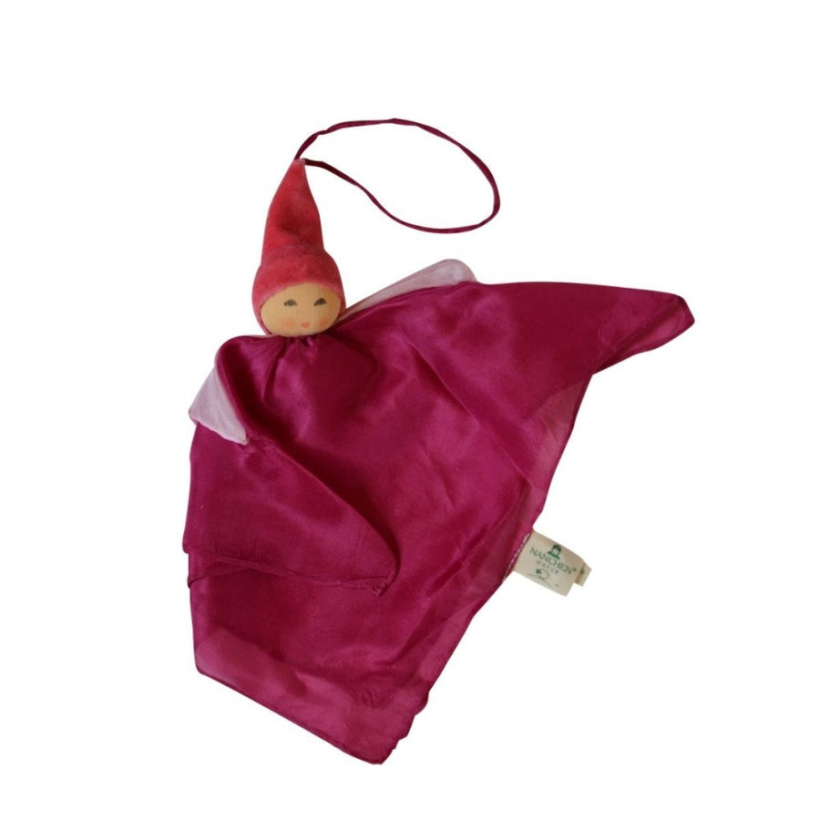 Nanchen Silk Kerchief Fairy - Fuschia - Oompa Toys