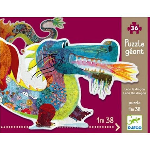 Djeco Leon The Dragon Puzzle (36 Pieces)