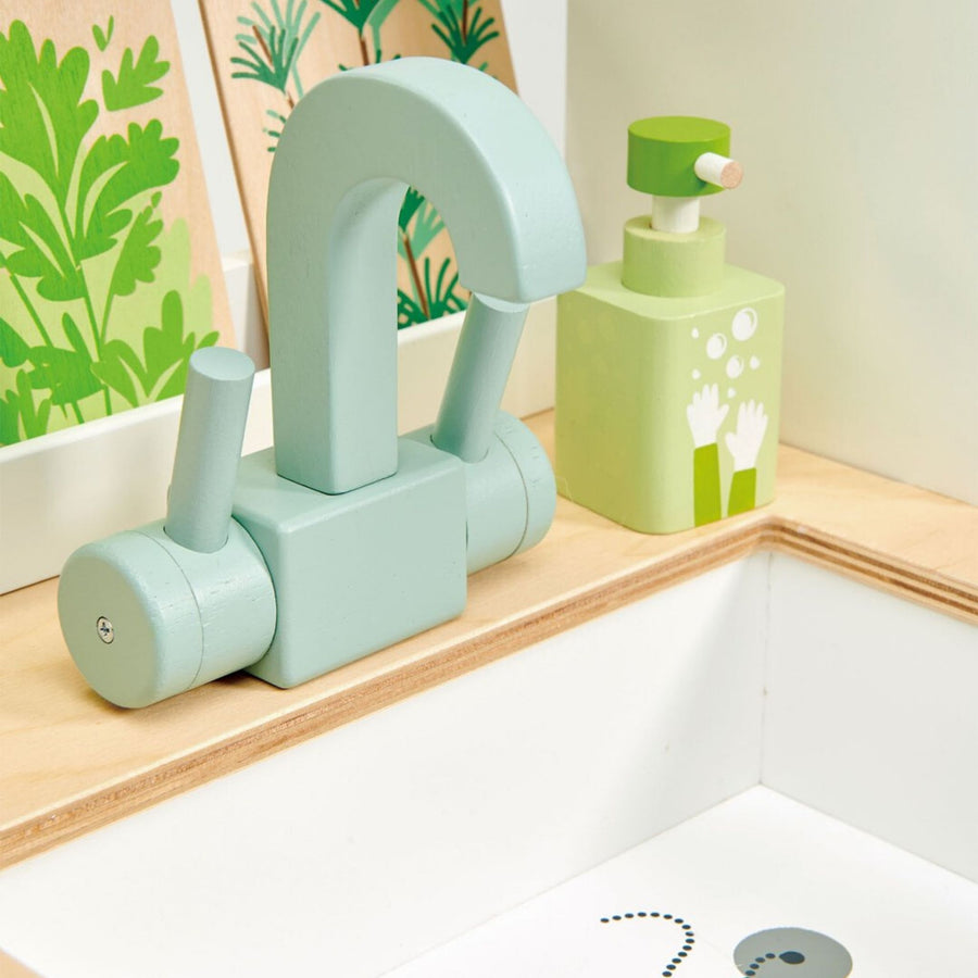Tender Leaf Toys Mini Chef Kitchen Range Sink|