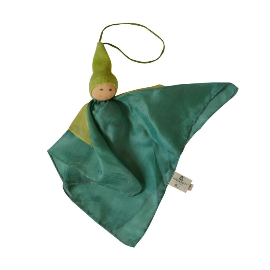 Nanchen Silk Kerchief Fairy - Green - Oompa Toys