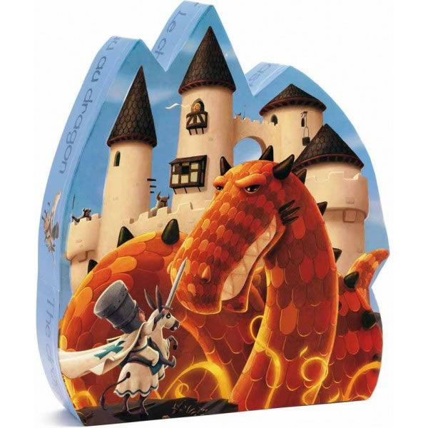 Djeco Dragon Castle Puzzle (54 Pieces)