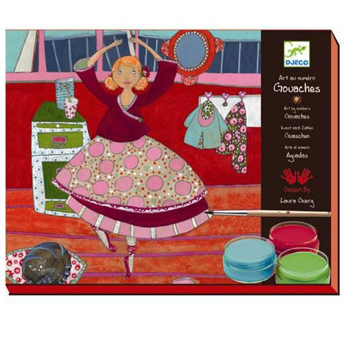 Djeco Dancers Paint Kit