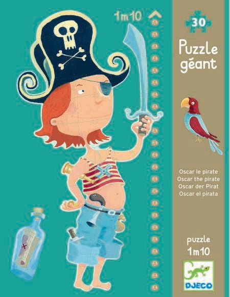 Djeco Oscar The Pirate Puzzle (30 Pieces)