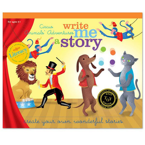 eeBoo Circus Animals' Adventure Write Me A Story