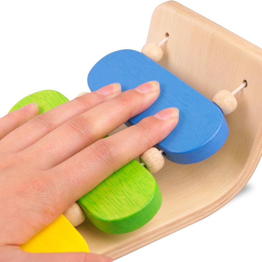 Plan Toys Wooden Oval Xylophone