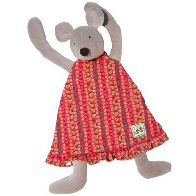 Moulin Roty Nini Mouse Towel Doll