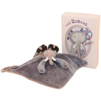 Moulin Roty Elephant Towel Doll