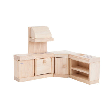 Classic Wooden Dollhouse Furniture - Kitchen