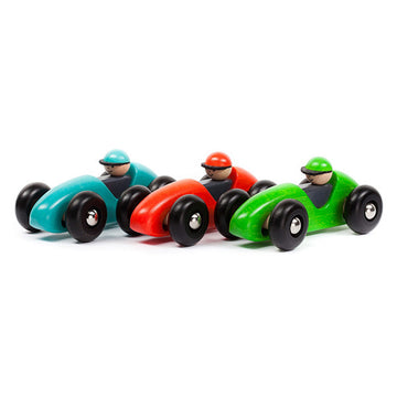 Bajo Wooden Toy Race Car and Driver