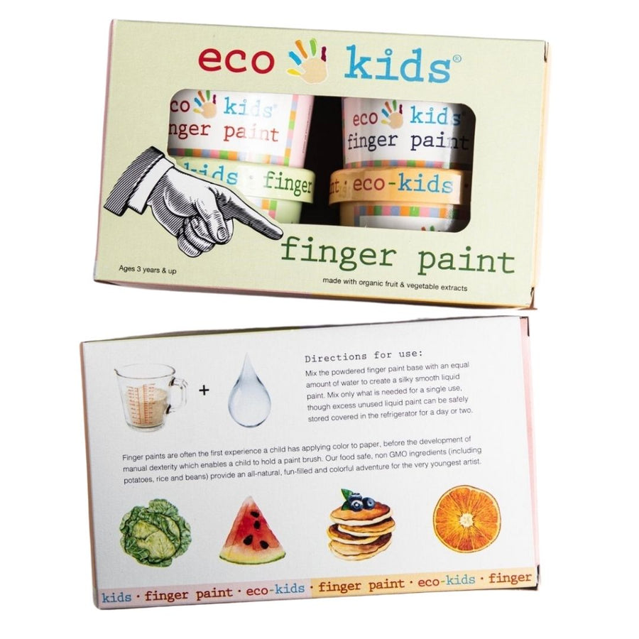 Eco Kids - Finger Paint - Oompa Toys