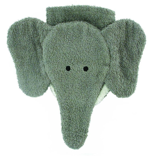 Washcloth Hand Puppet - Elephant