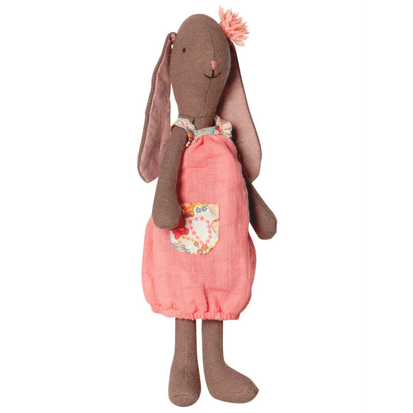 Maileg Fleurie Mini Brown Bunny Rabbit