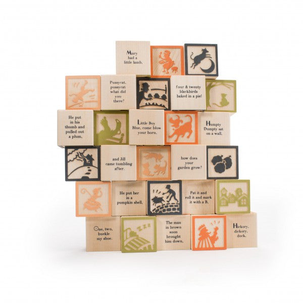 Nursery Rhyme Wooden Blocks