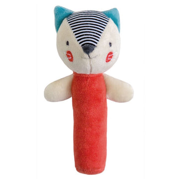 Petit Collage - Fox Squeaker Organic Baby Toy | Oompa Toys