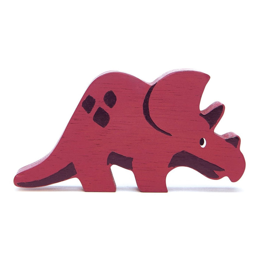 Tender Leaf Toys Wooden Triceratops - Oompa Toys