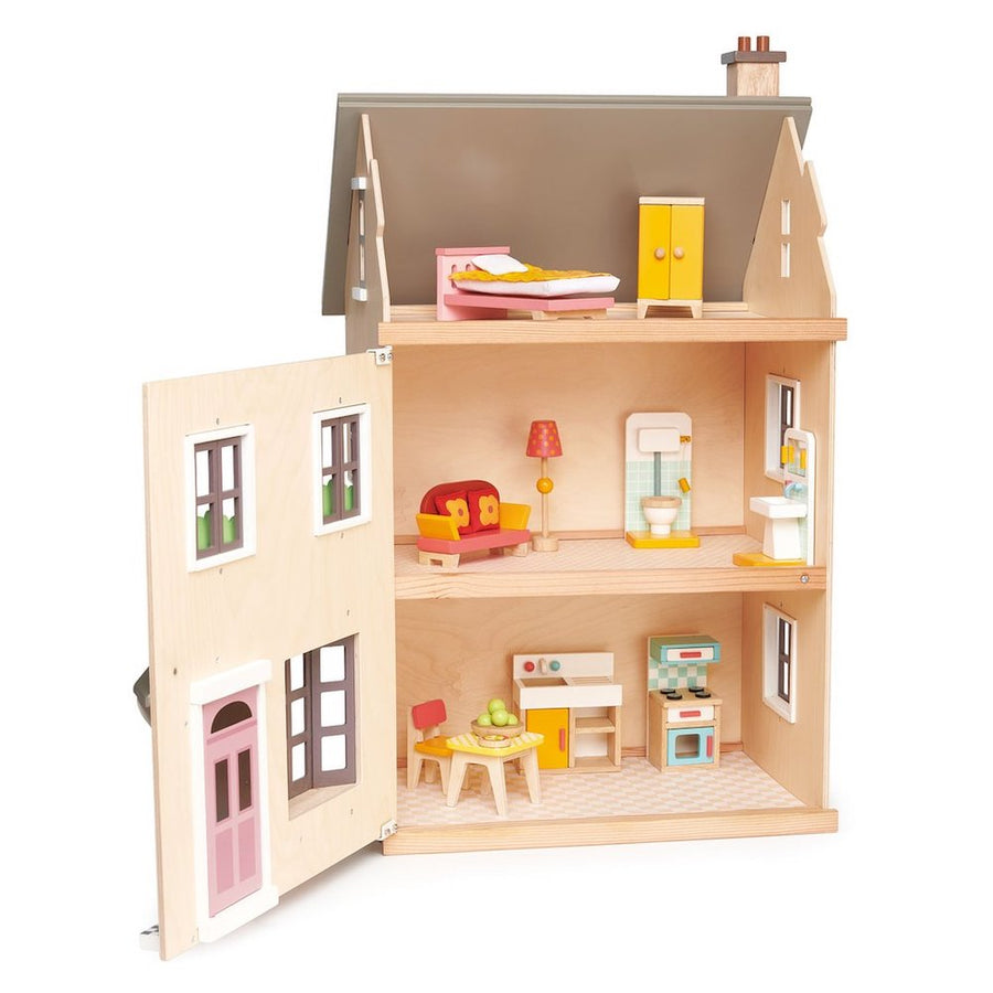 Tender Leaf Toys Foxtail Villa Dollhouse Open