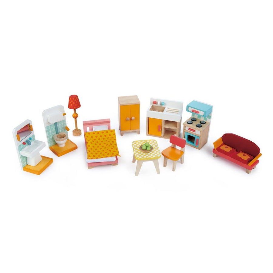 Tender Leaf Toys Foxtail Villa Dollhouse Furniture