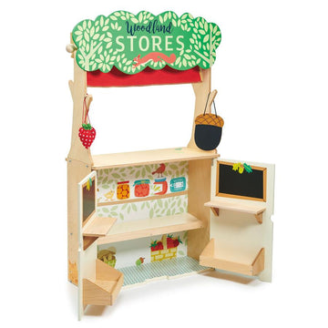 Tender Leaf Toys Woodland Stores and Theater Play Set - Oompa Toys