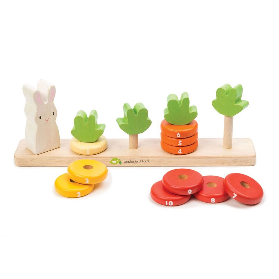 Counting Carrots - Tender Leaf Toys - Oompa Toys