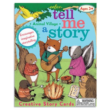 Animal Village Tell Me A Story Creative Cards