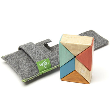 Tegu Magnetic Blocks - Pocket Pouch - Prism