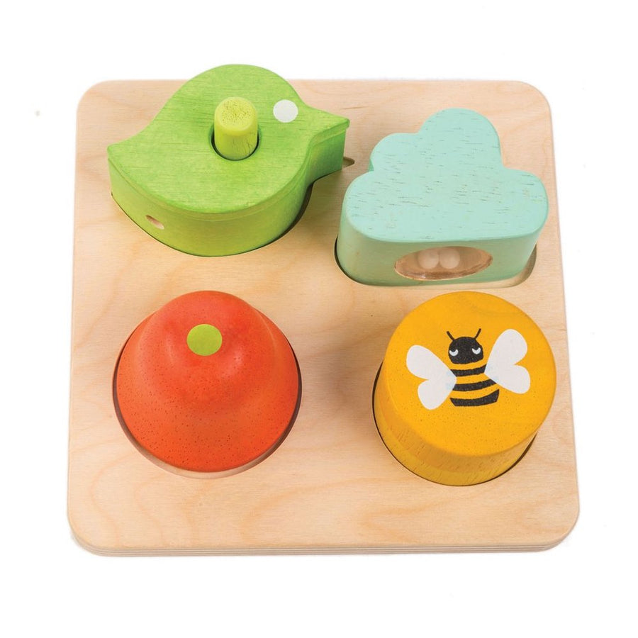 Audio Sensory Tray - Tender Leaf Toys - Oompa Toys