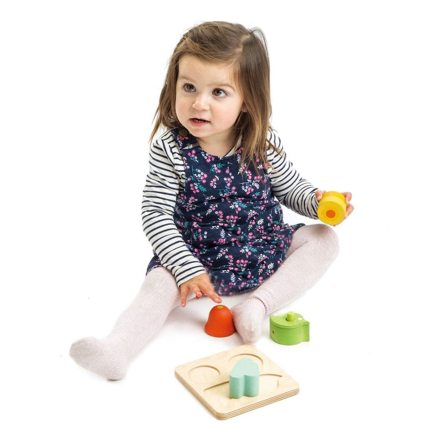 Audio Sensory Tray with Girl - Tender Leaf Toys - Oompa Toys