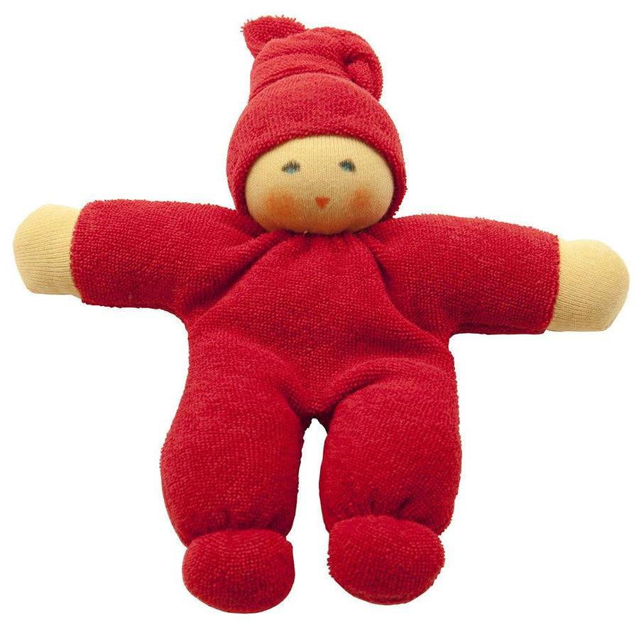Oompa Baby Organic Soft Doll - Nanchen - Toys - Red