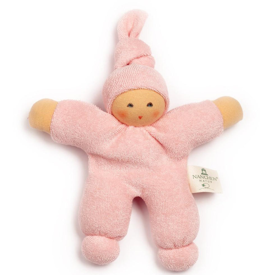 Oompa Baby Organic Soft Doll - Nanchen - Toys - Light Pink