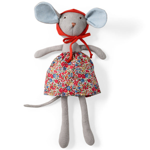 Catalina Mouse - Organic Stuffed Animal - Hazel Village