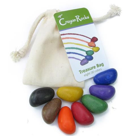 Crayon rocks- set of 8