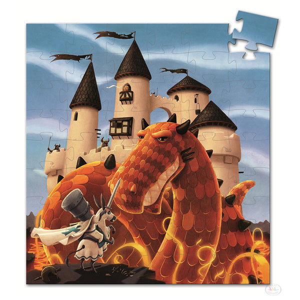 Dragon Castle Puzzle (54 Pieces)