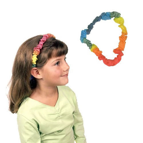 Silk Rainbow Dress-Up Band