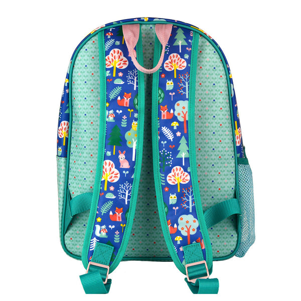 Kids' Eco-Friendly Backpack - Woodland Animals - Petit Collage