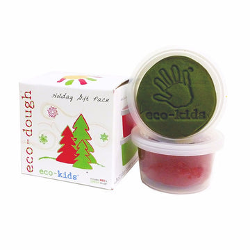 Eco-Dough Holiday Two-Pack by Eco-Kids