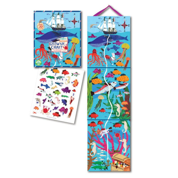 eeboo big blue whale growth chart