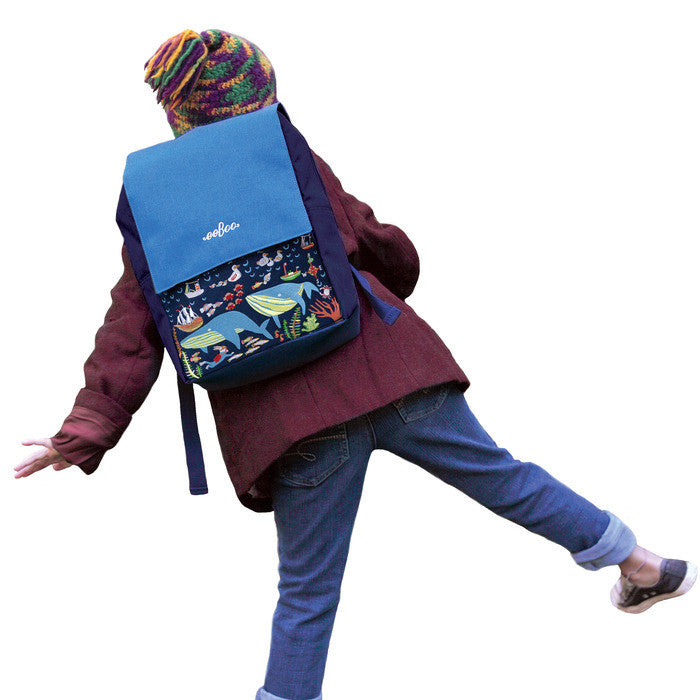 Boy's Backpack - Back to School - Blue
