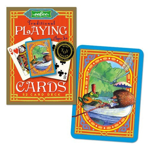 Frog & Hedgehog Playing Cards