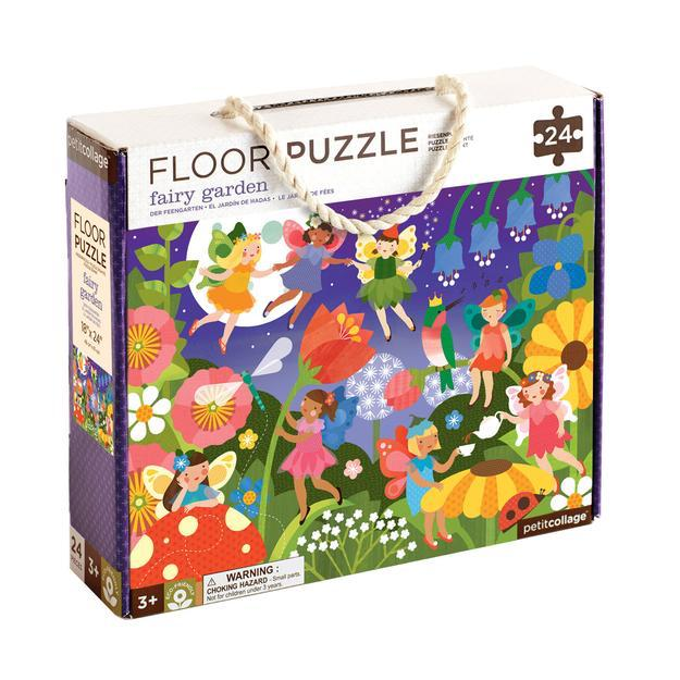 Petit Collage | Fairy Garden Floor Puzzle | Oompa Toys