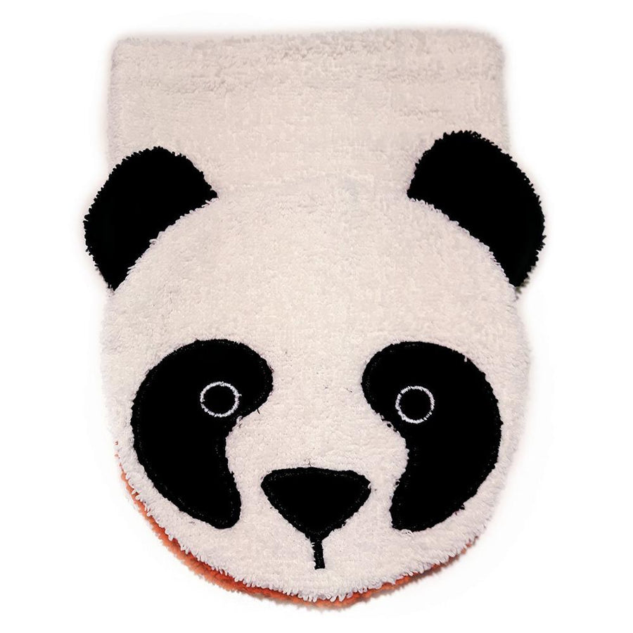 Organic Cotton Panda Washcloth