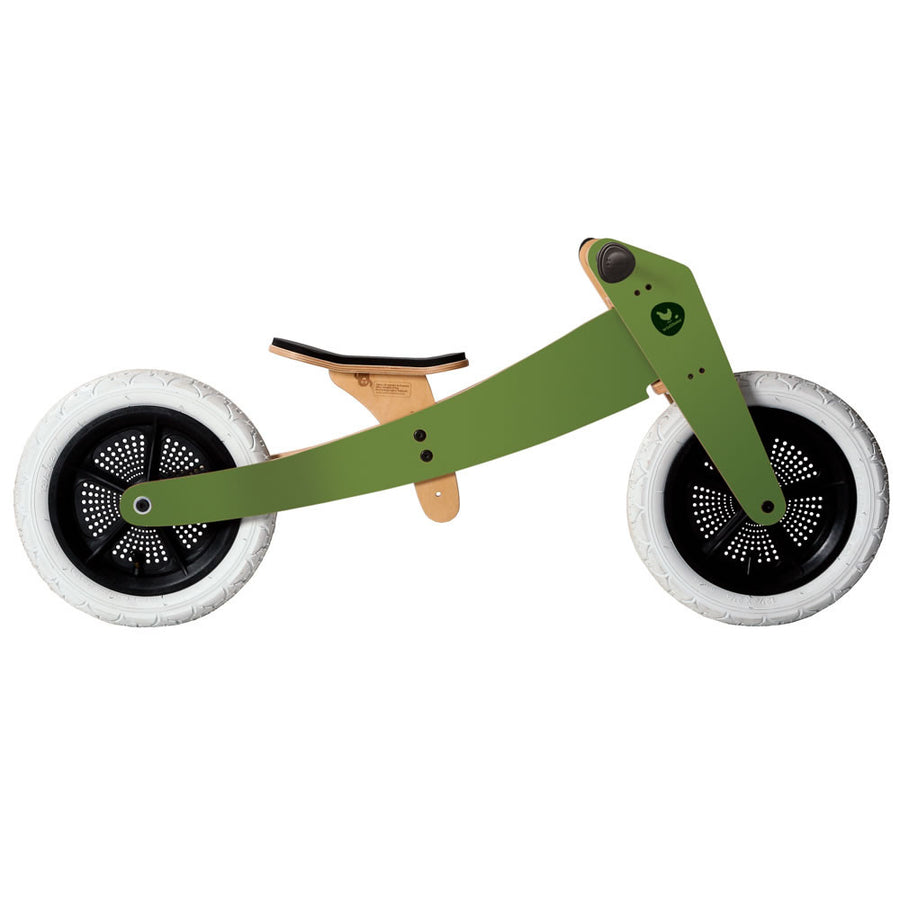 Wishbone 3-In-1 Bike Green
