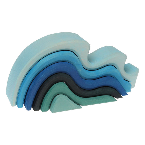 Elements Of Nature Nesting Blocks: Water (Waves)